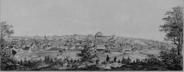 Werdau auf dem Weg zur Industriestadt (1800 - 1914)